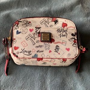 Brand new Disney Dooney & Bourke leather side bag